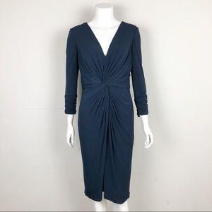 TADASHI SHOJI COLLECTION RUCHED DRESS M